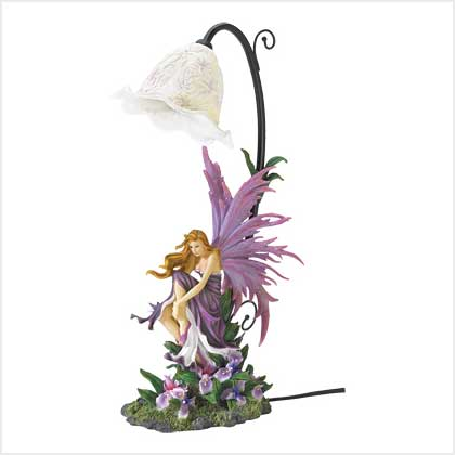 Fairy Orchid Table Lamp
